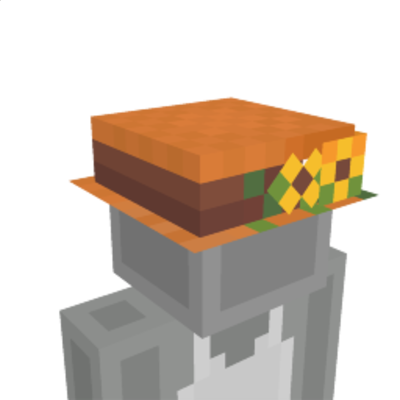 Floral Summer Hat on the Minecraft Marketplace by Polymaps
