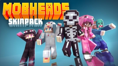 Mob Heads on the Minecraft Marketplace by Cubed Creations