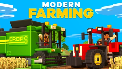 Modern Farming on the Minecraft Marketplace by HorizonBlocks