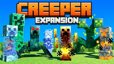 Creeper Expansion on the Minecraft Marketplace by BBB Studios