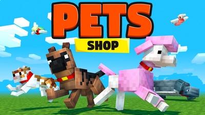 PETS Shop on the Minecraft Marketplace by HorizonBlocks