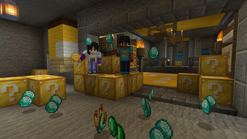 Lucky Block Classic on the Minecraft Marketplace by BLOCKLAB Studios