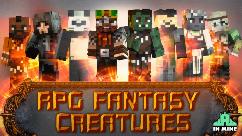 RPG Fantasy Creatures on the Minecraft Marketplace by In Mine