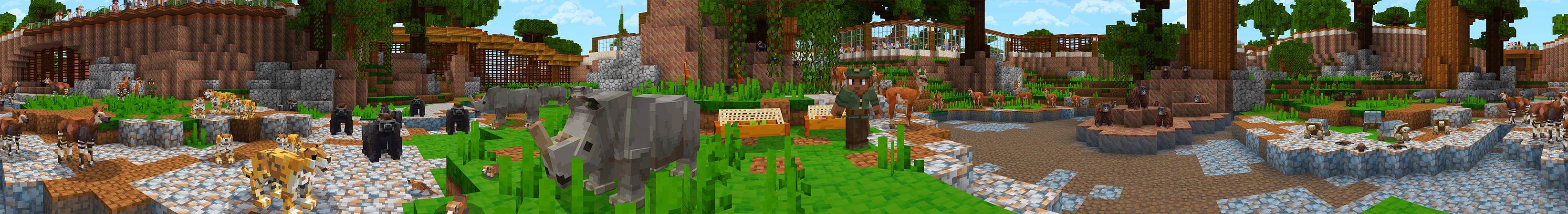 MINE ZOO 9 in Minecraft Marketplace  Minecraft
