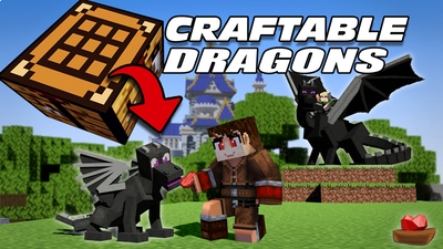 Craftable Dragons on the Minecraft Marketplace by Lifeboat