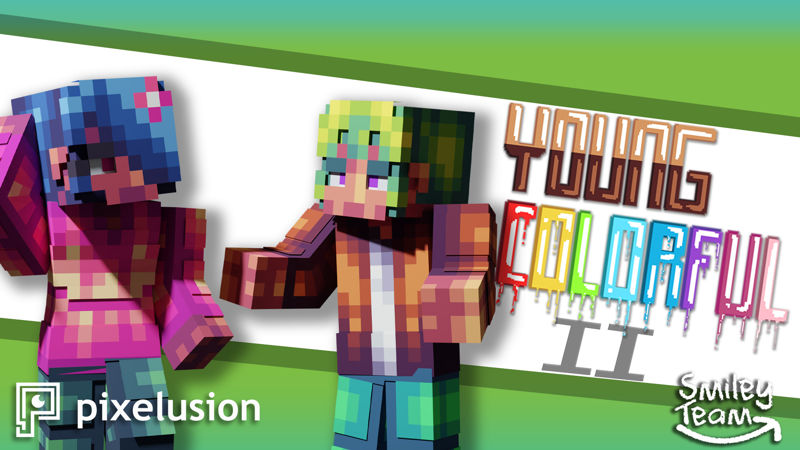 Young Colorful Teens 2 on the Minecraft Marketplace by Pixelusion
