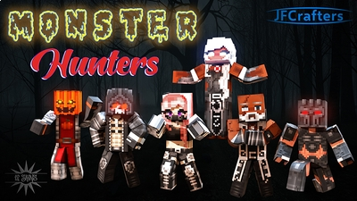 Monster Hunters on the Minecraft Marketplace by JFCrafters