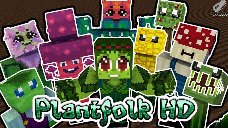 Plantfolk HD on the Minecraft Marketplace by Appacado