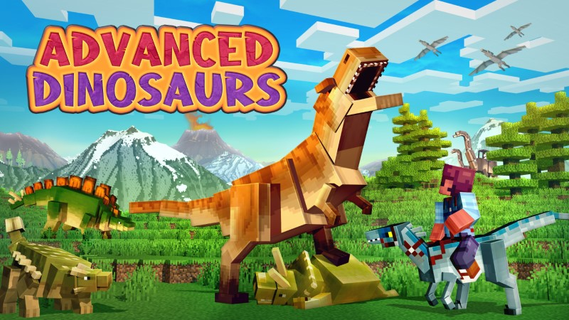 Advanced Dinosaurs on the Minecraft Marketplace by Shapescape