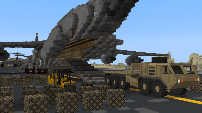 Military Base: The Airforce on the Minecraft Marketplace by BLOCKLAB Studios