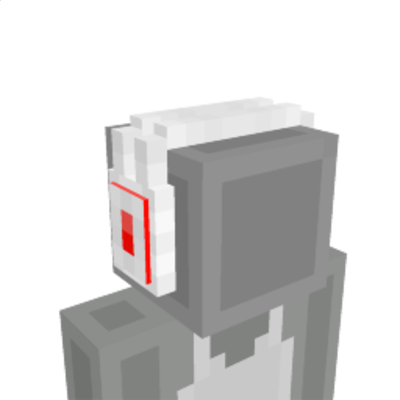 White Headphones on the Minecraft Marketplace by Sova Knights