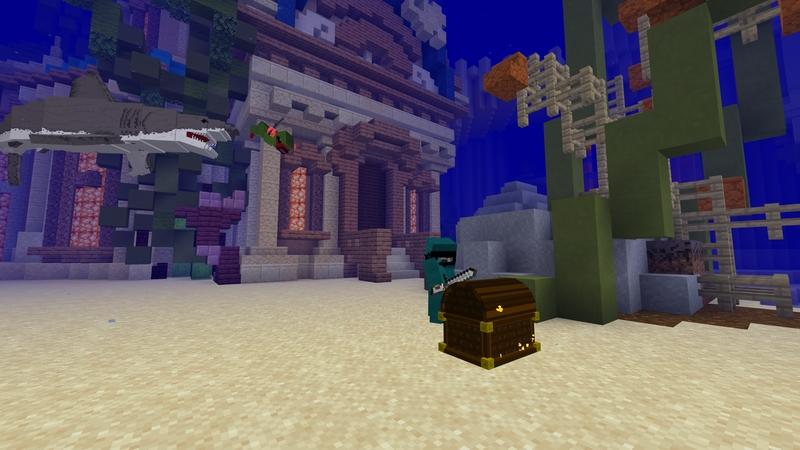 Atlantis Treasure Wars by Builders Horizon