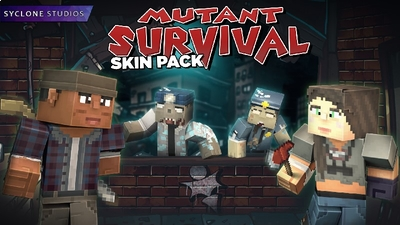 Mutant Survivor HD Skins on the Minecraft Marketplace by Syclone Studios