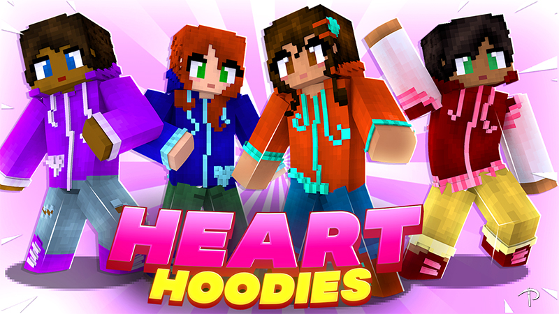 Heart Hoodies on the Minecraft Marketplace by Pickaxe Studios