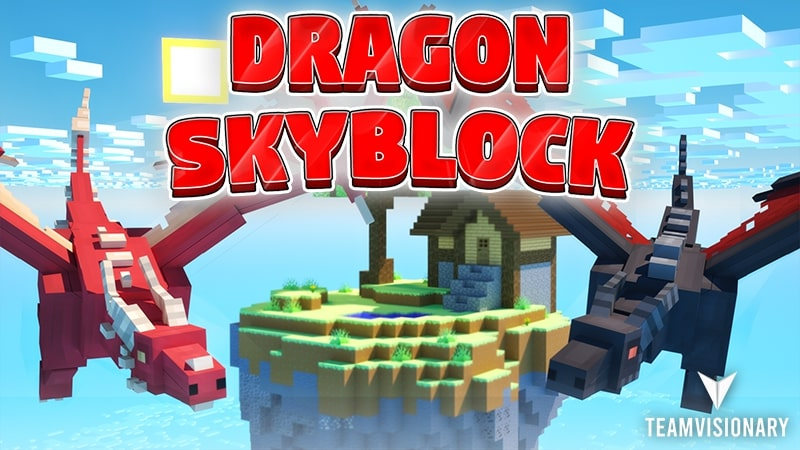 Dragon Skyblock on the Minecraft Marketplace by Team Visionary