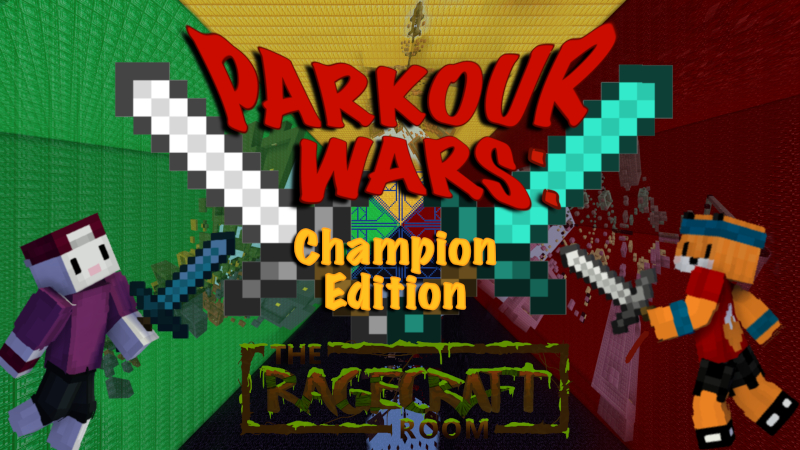 Parkour Wars Champion Edition on the Minecraft Marketplace by The Rage Craft Room