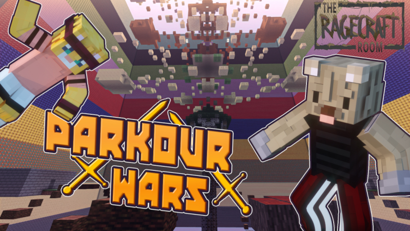 Parkour Wars on the Minecraft Marketplace by The Rage Craft Room