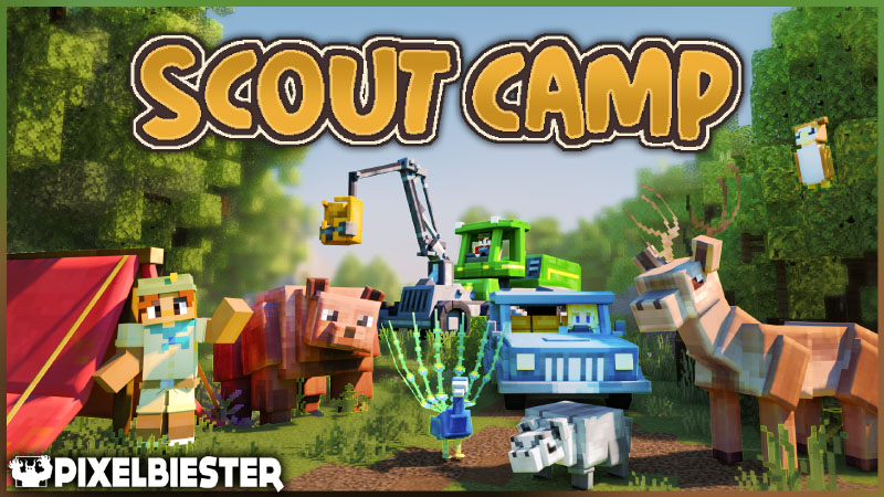 Scout Camp on the Minecraft Marketplace by Pixelbiester