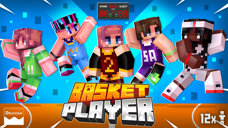Basket Player on the Minecraft Marketplace by Diluvian
