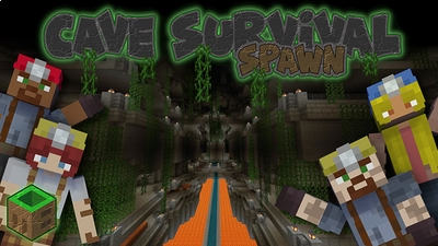 Cave Survival Spawn on the Minecraft Marketplace by MobBlocks