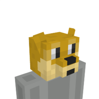 Doggie Head on the Minecraft Marketplace by Cleverlike