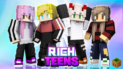 Rich Teens on the Minecraft Marketplace by MobBlocks