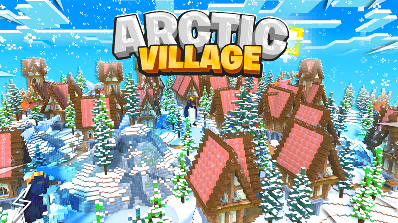 Arctic Village on the Minecraft Marketplace by Senior Studios