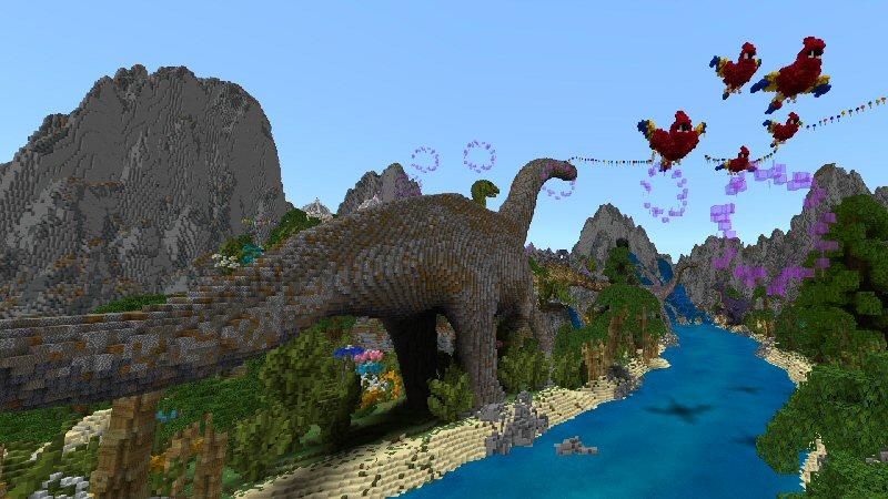 Dinosaur Paradise by Shaliquinn's Schematics