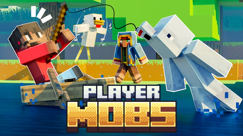 Player Mobs on the Minecraft Marketplace by Nitric Concepts