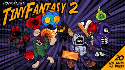 Tiny Fantasy 2 Skins on the Minecraft Marketplace by BDcraft