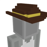 Sheriff Hat on the Minecraft Marketplace by MobBlocks