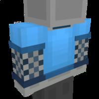 Blue Fishnet Shirt on the Minecraft Marketplace by Impulse