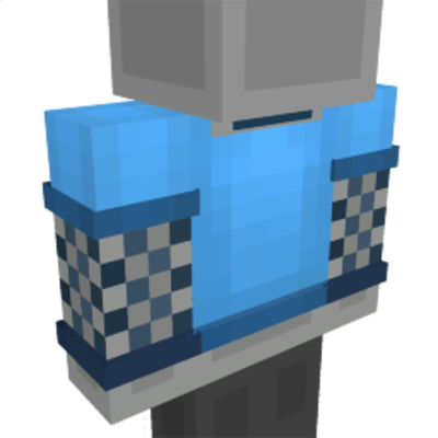 Blue Fishnet Shirt on the Minecraft Marketplace by Impulse