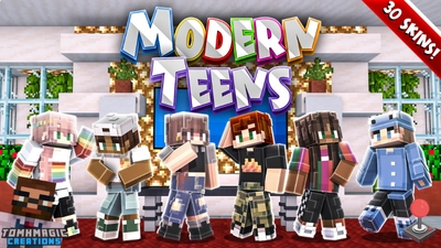 Modern Teens on the Minecraft Marketplace by Tomhmagic Creations