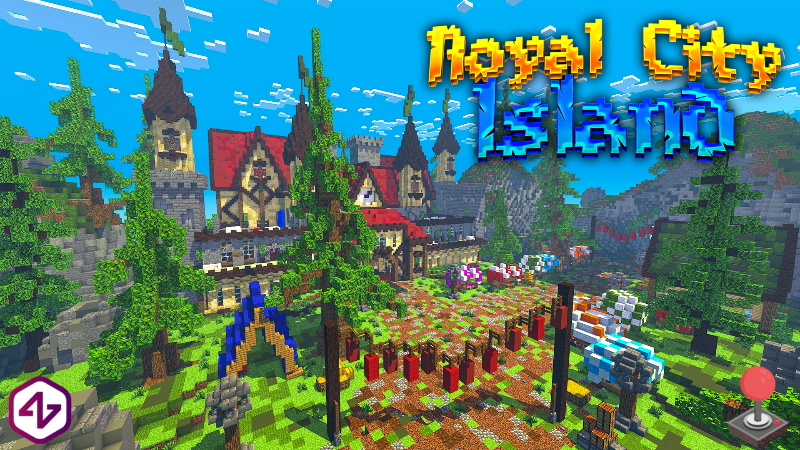 Royal City Island on the Minecraft Marketplace by 4KS Studios