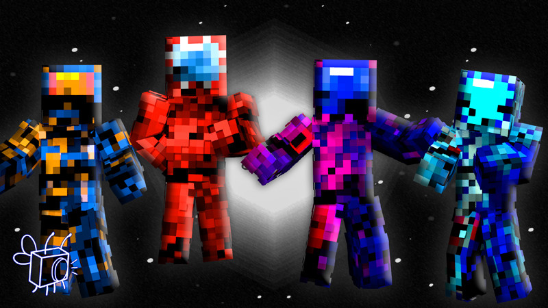 Glitchy Nauts on the Minecraft Marketplace by Blu Shutter Bug