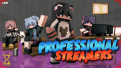 Professional Streamers on the Minecraft Marketplace by Hourglass Studios