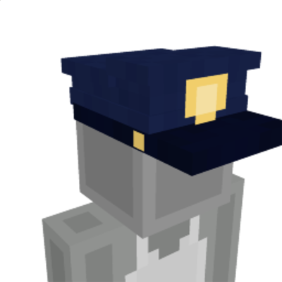 Cop Cap on the Minecraft Marketplace by GoE-Craft