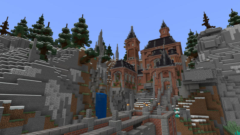 Snowy Hill Castle by BLOCKLAB Studios