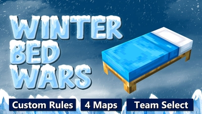 Winter Bed Wars on the Minecraft Marketplace by Waypoint Studios