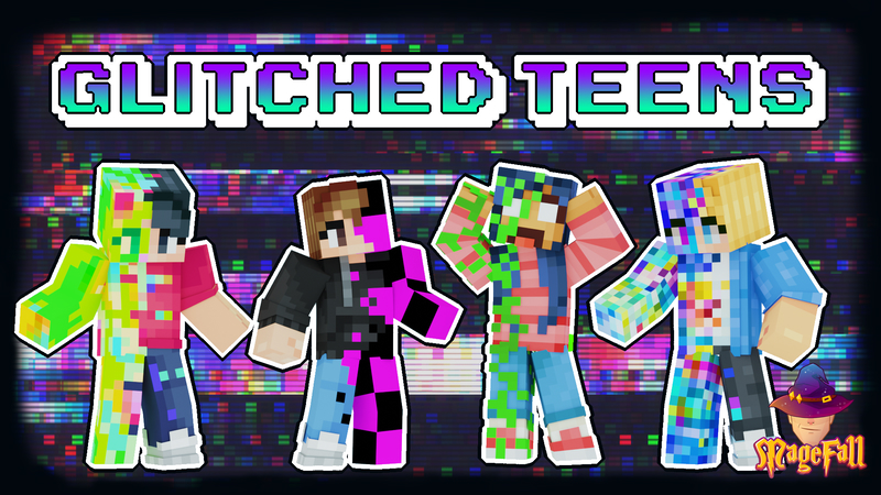 Glitched Teens on the Minecraft Marketplace by Magefall