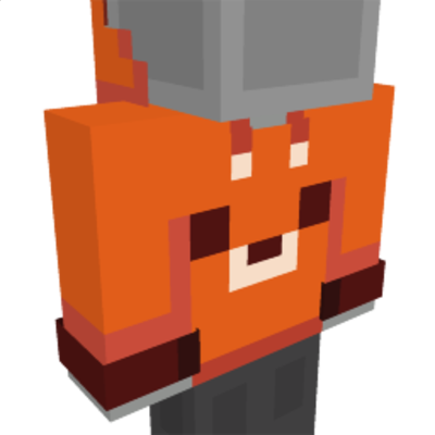 Fox Hoodie on the Minecraft Marketplace by Cyclone
