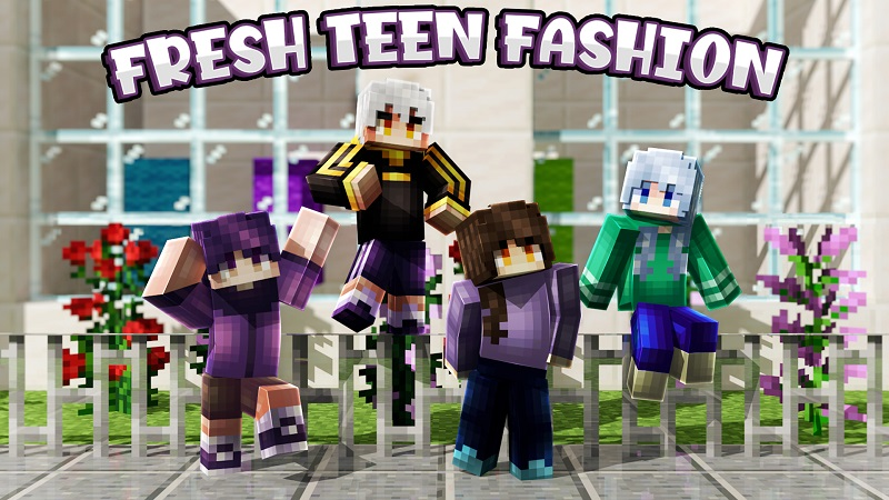 Fresh Teen Fashion on the Minecraft Marketplace by Nitric Concepts