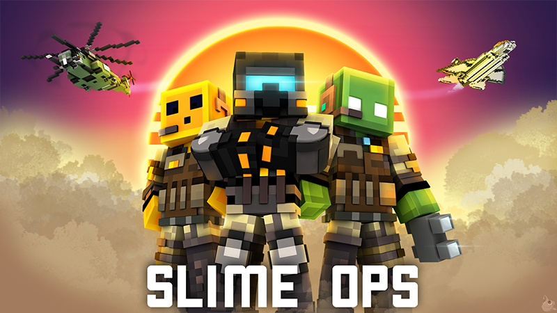 Slime Ops on the Minecraft Marketplace by Glowfischdesigns