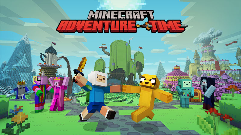 Adventure Time Mashup on the Minecraft Marketplace by Minecraft