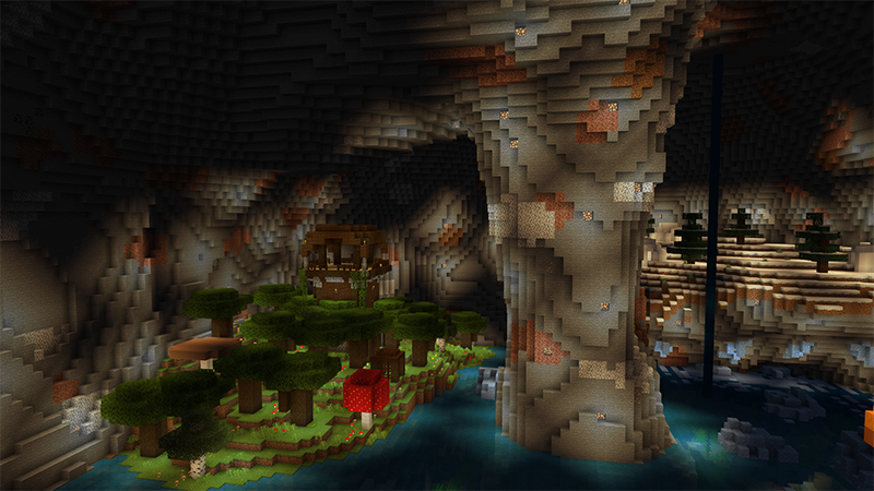 Cave System Biomes by Diluvian