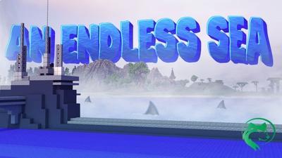 An Endless Sea on the Minecraft Marketplace by BLOCKLAB Studios