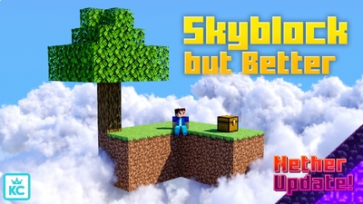 Skyblock but Better on the Minecraft Marketplace by King Cube