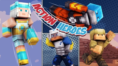 Action Heroes on the Minecraft Marketplace by 57Digital