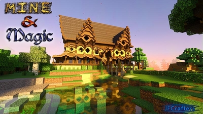 Mine  Magic on the Minecraft Marketplace by JFCrafters